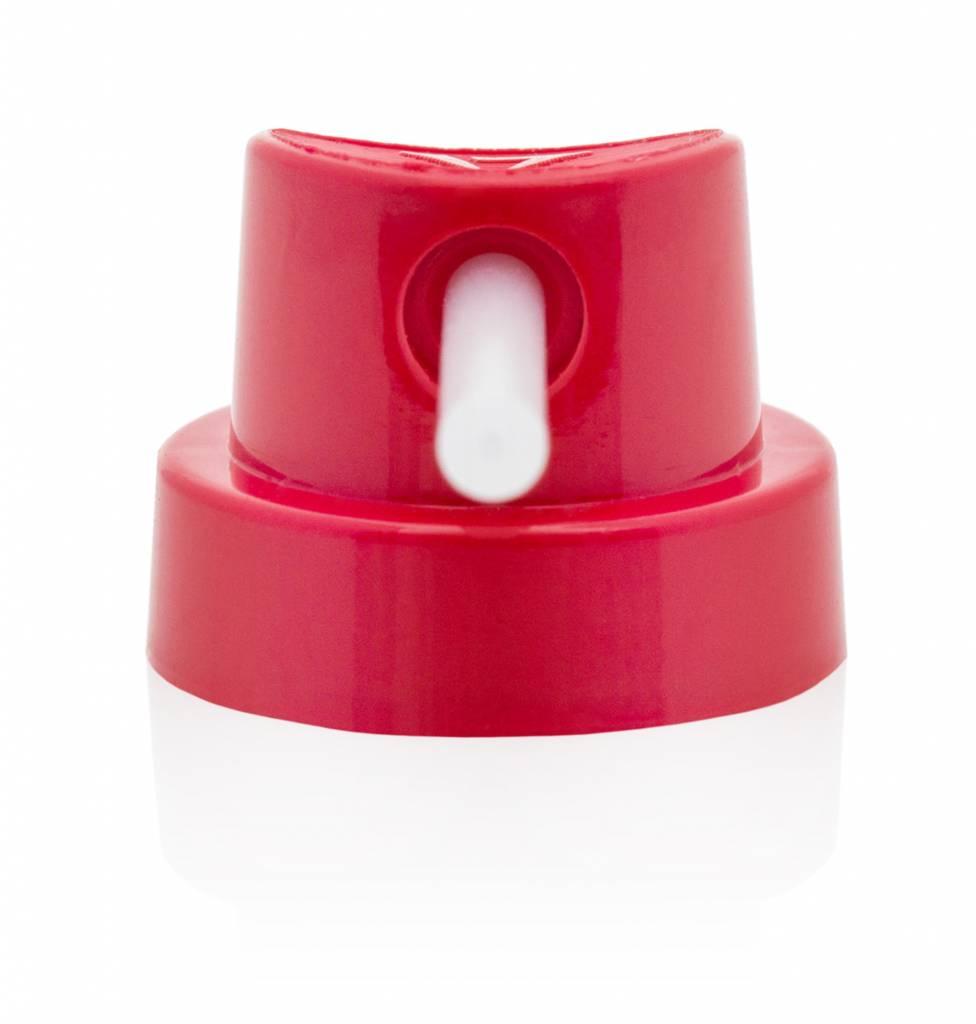 NEEDLE CAP Red/Transparent