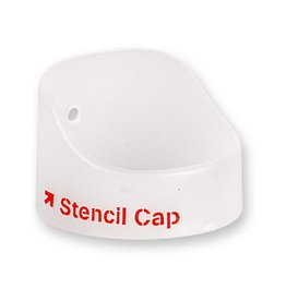 STENCIL CAP Transparent