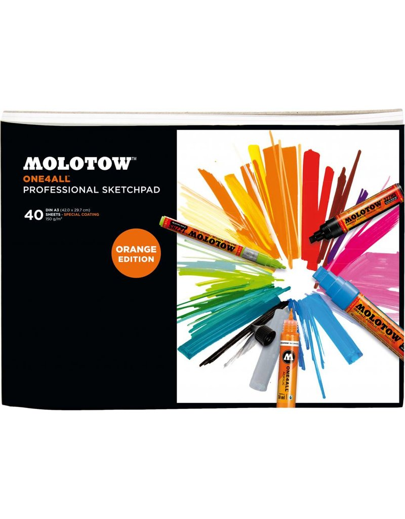 Molotow ONE4ALL SKETCHPAD Din A4 / A3