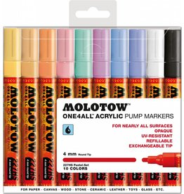 Molotow ONE4ALL 227HS Marker 10er Pastel-Set