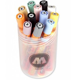 Molotow ONE4ALL 227HS Marker 12er Pastel-Set