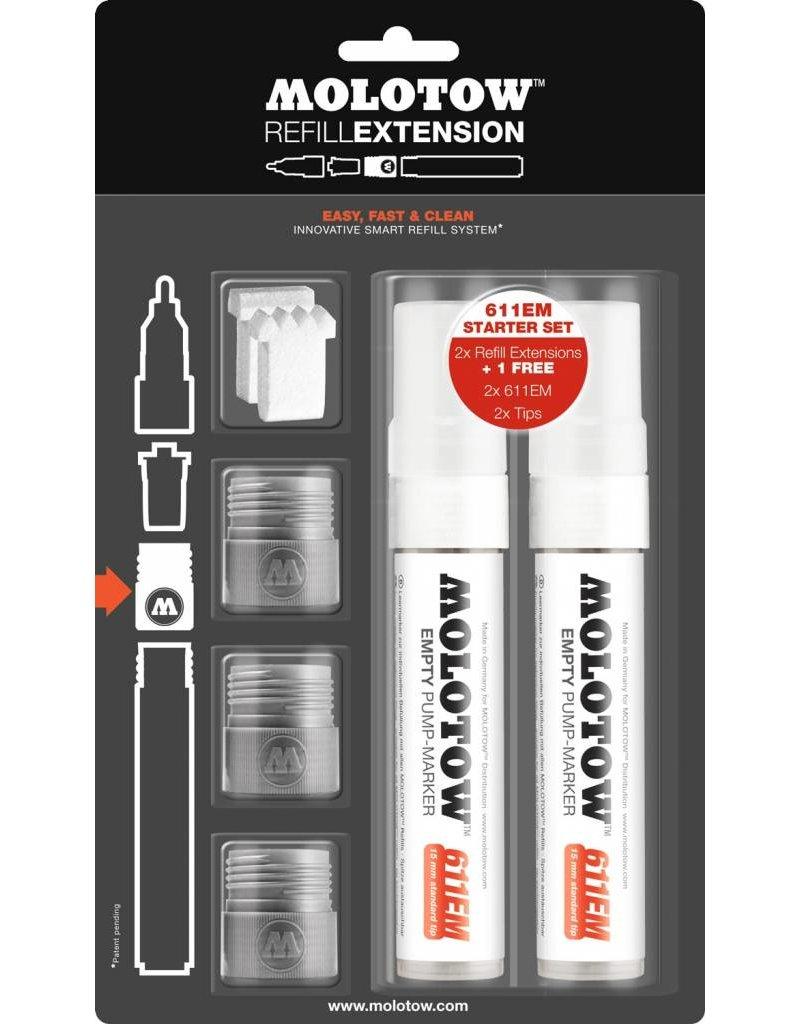 Molotow REFILL EXTENSION 611EM Starter Kit