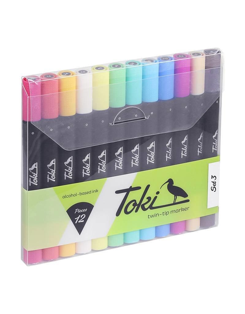 Toki Marker LAYOUTMARKER 12er Set 3