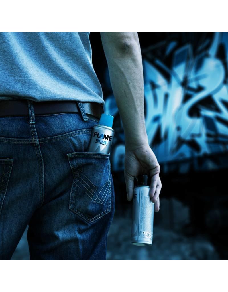 Flame BLUE Pocket 18x 200ml Sales Display