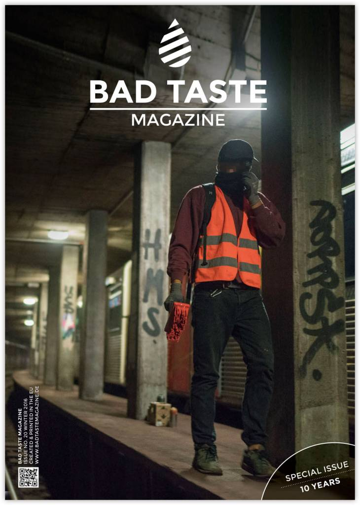 Bad Taste #20 Graffiti Magazin