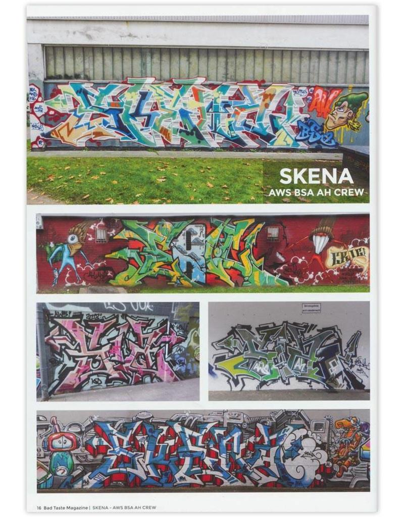 Bad Taste #20 Graffiti Magazin