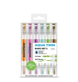 Molotow AQUA TWIN Basic-Set 2