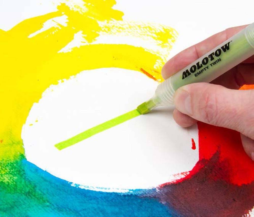 """Molotow AQUA TWIN Complete Set """"Color"""""""