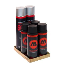 Molotow BURNER Chrom COVERSALL  Action Pack