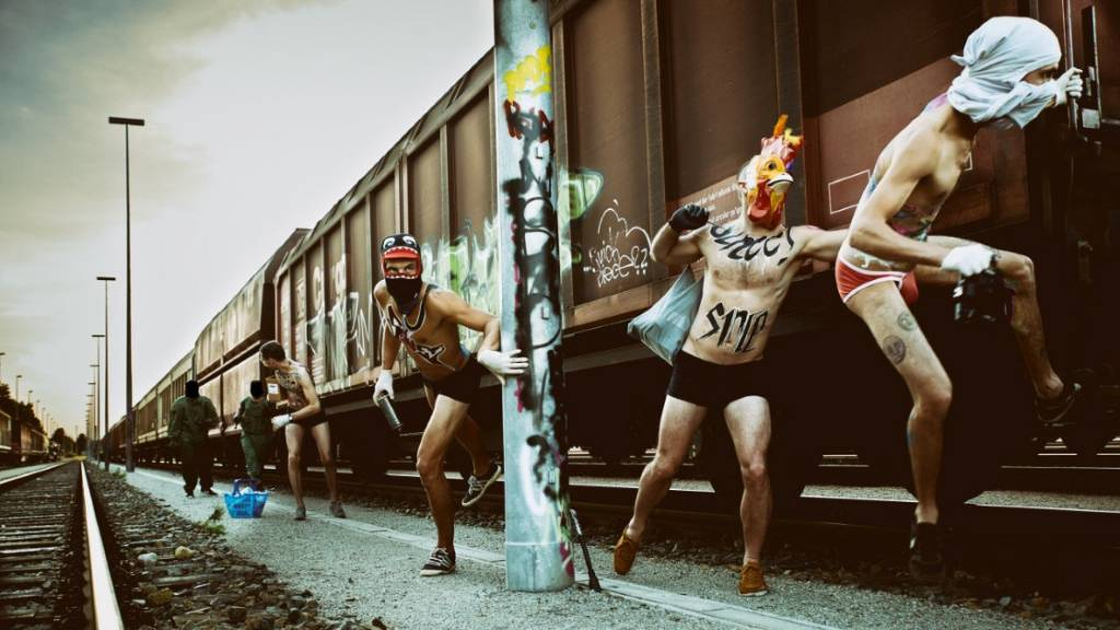 Graffiti Playboys Kalender 2017