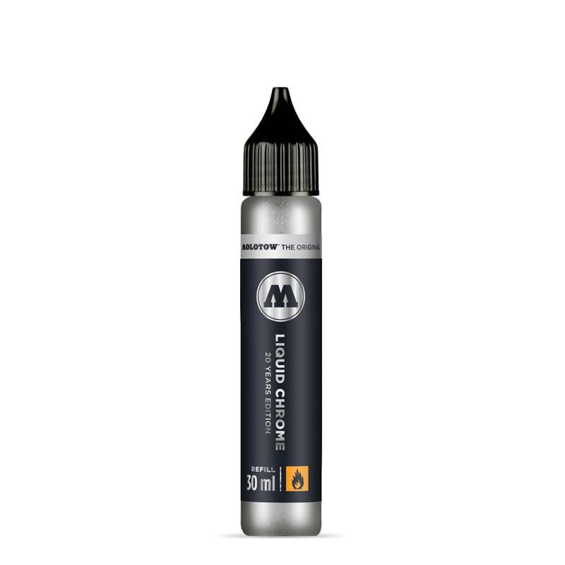 Molotow LIQUID CHROME Refill 30ml