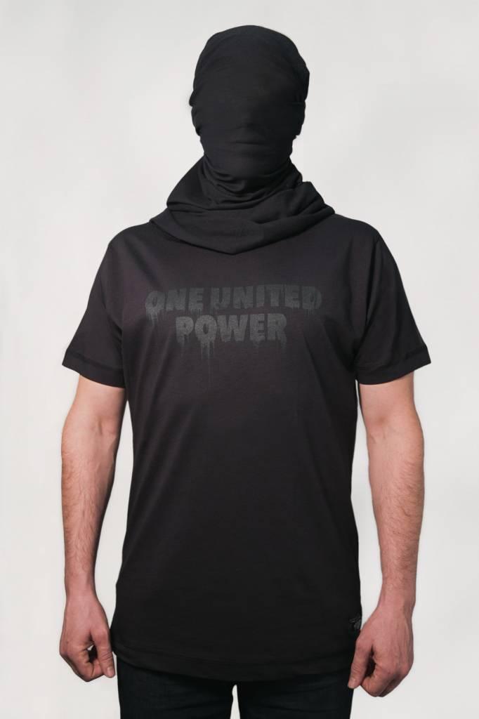 1UP ONE UNITED POWER T-SHIRT Black