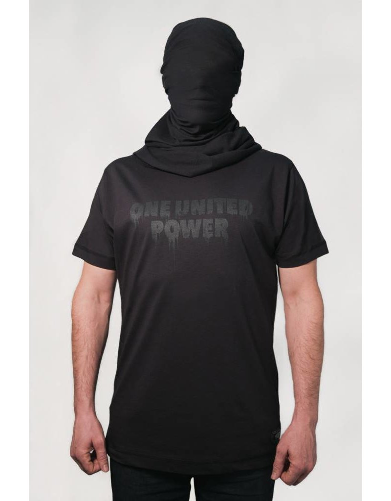 1UP ONE UNITED POWER T-SHIRT Black