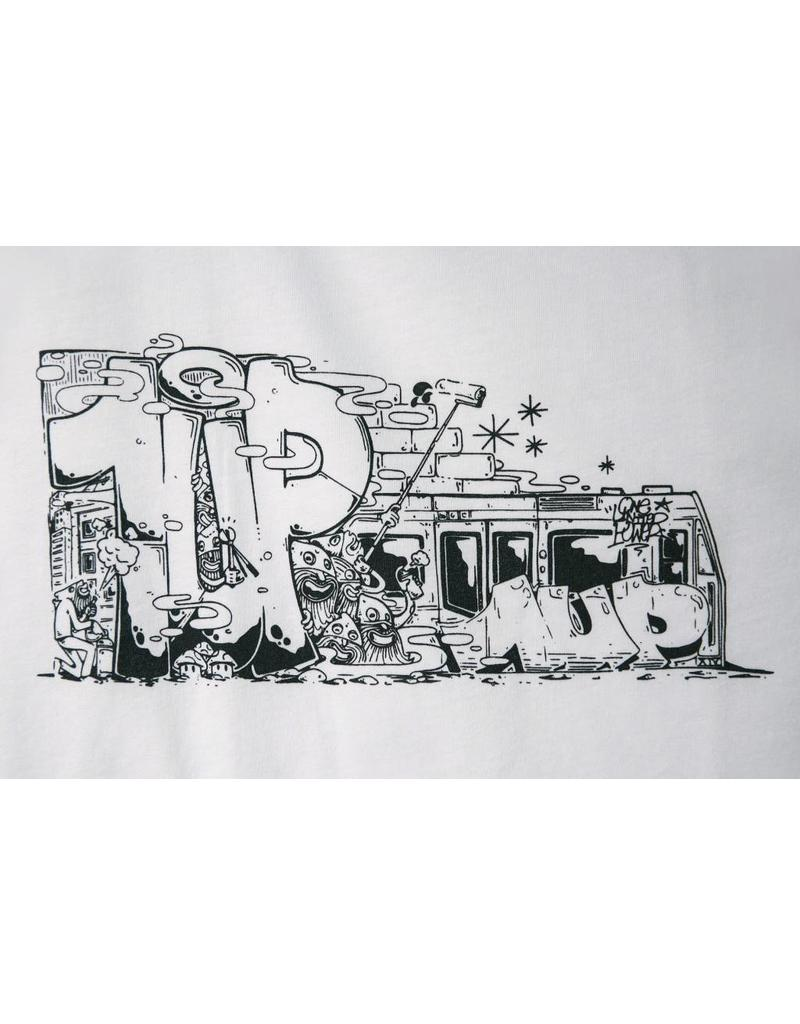 1UP TRAIN T-SHIRT white