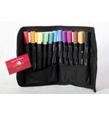 Delta Marker 12er Set Main Colors inkl. Tasche