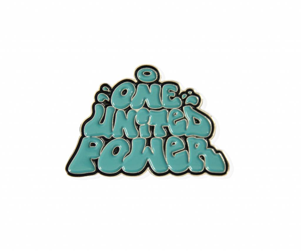 "1UP ""One United Power"" Pin"