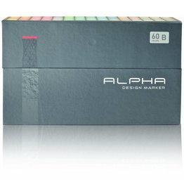 Alpha DESIGN MARKER 60er Set B