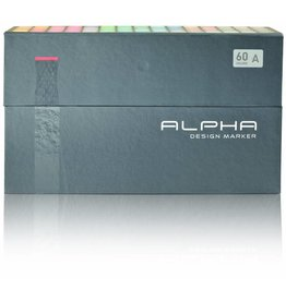Alpha DESIGN MARKER 60er Set A