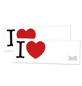 Montana I LOVE... Sticker 100 Stk.