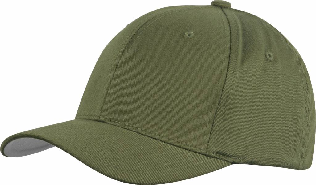 Flexfit WOOLY COMBED 6277 Cap olive/grey