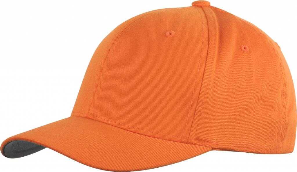 Flexfit WOOLY COMBED 6277 Cap orange/grey