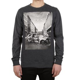 Iriedaily GREETINGS CREW SWEATER grey melange