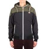Iriedaily INSULANER JACKET black/green