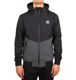 Iriedaily AUF TECH JACKET black/reflective