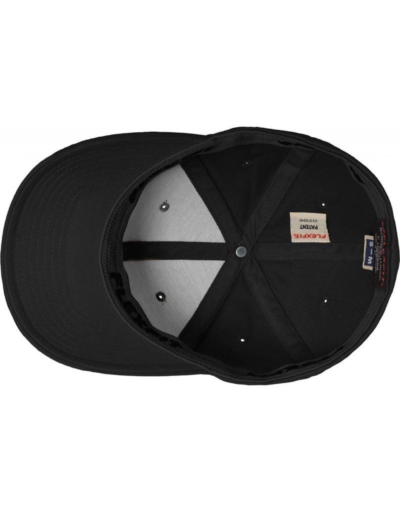 Flexfit WOOLY COMBED 6277 Cap black/black