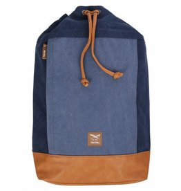 Iriedaily HEAVY SEA BACKPACK indigo