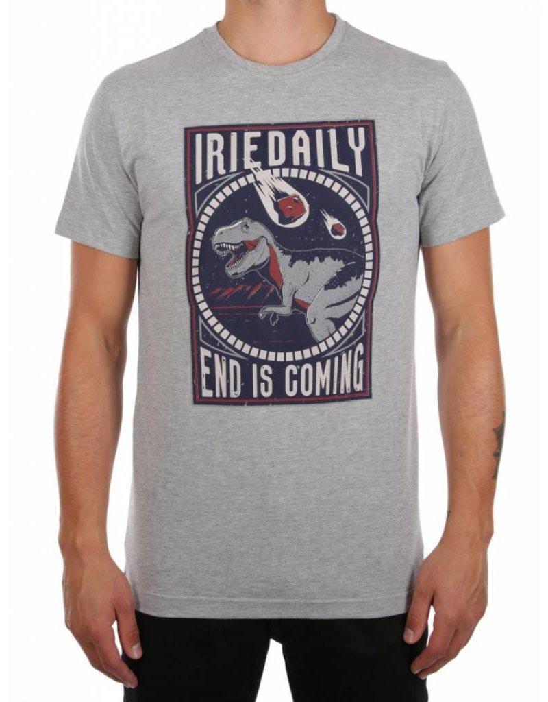 Iriedaily END IS COMING TEE grey-mel