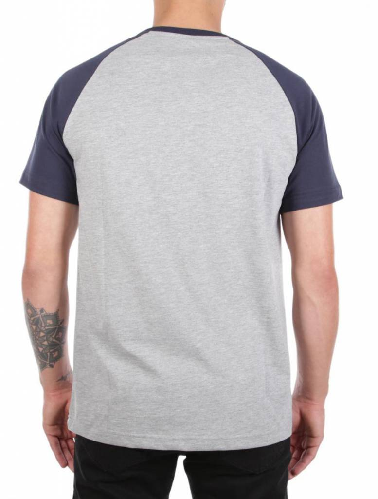 Iriedaily RUGGED FLAG TEE grey-mel