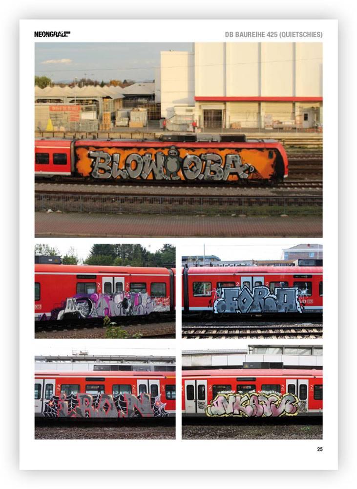 Neongrau #5 Graffiti Magazin