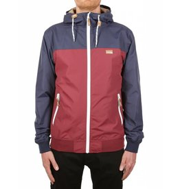 Iriedaily AUF DECK JACKET navy red