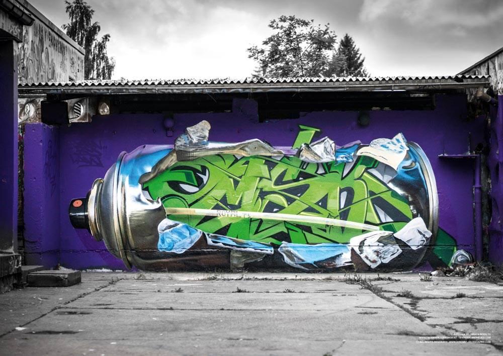 Down by Law #18 Graffiti Magazin