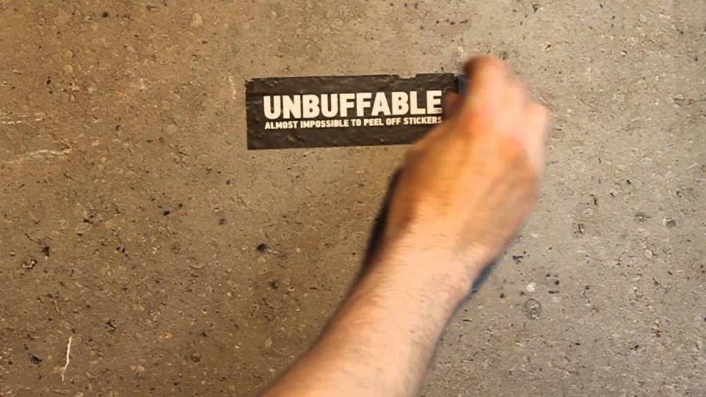 Unbuffable Sticker L