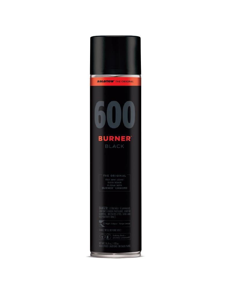 Molotow Burner Black 600ml Sprühdose