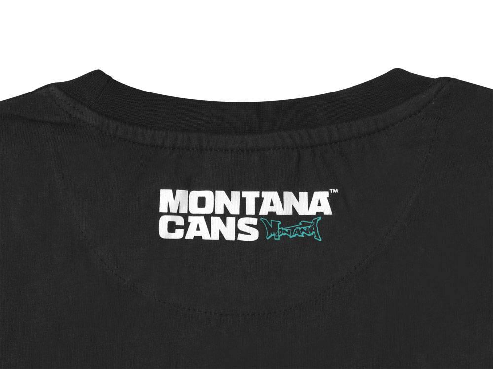 Montana LOGO T-SHIRT - Black