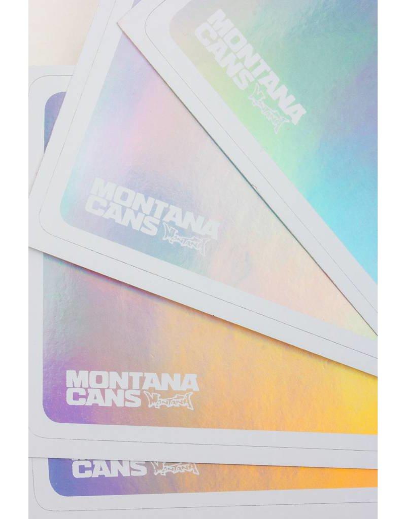 Montana Cans Hologram Egg Shell Sticker