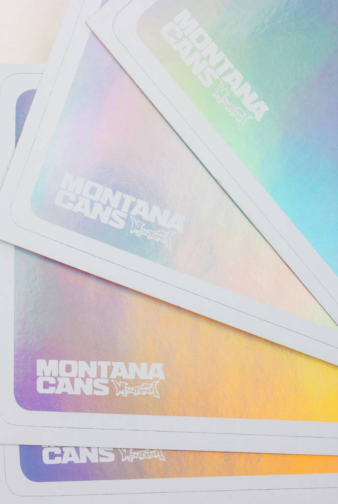 Montana Cans Hologram Egg Shell Sticker