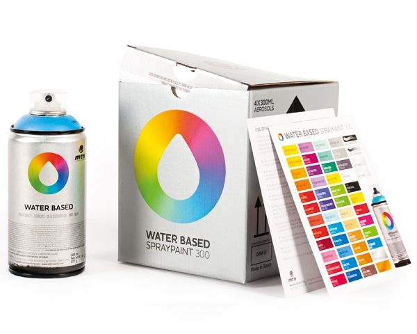 MTN Colors WATER BASED 300ml Sprühdose