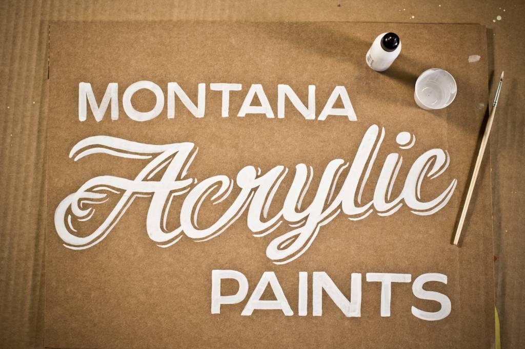 Montana ACRYLIC Paint Refill 180ml