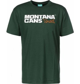 Montana LOGO T-SHIRT grün