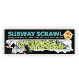 Subway Scrawl Malbuch