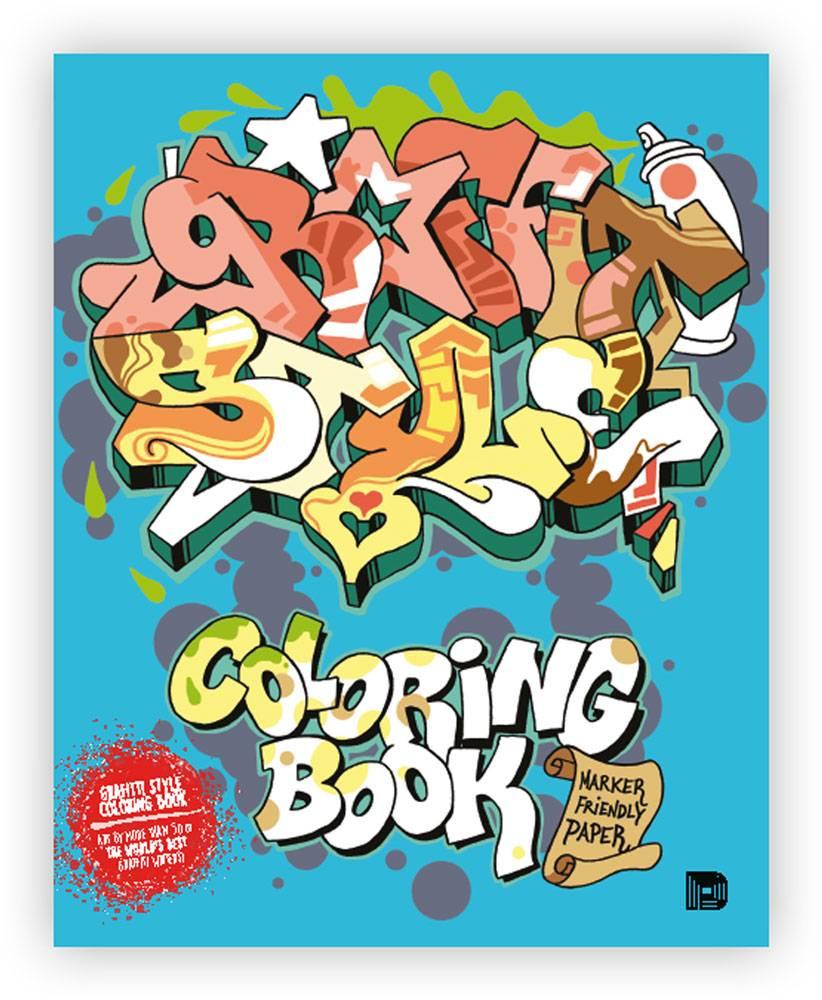 Graffiti Style Malbuch