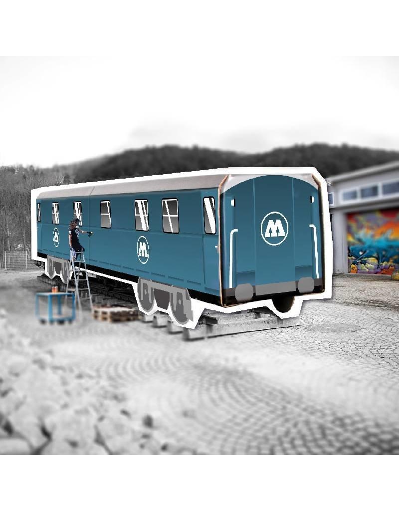 Molotow Mini Subwayz Faltpappzug Molotow Train