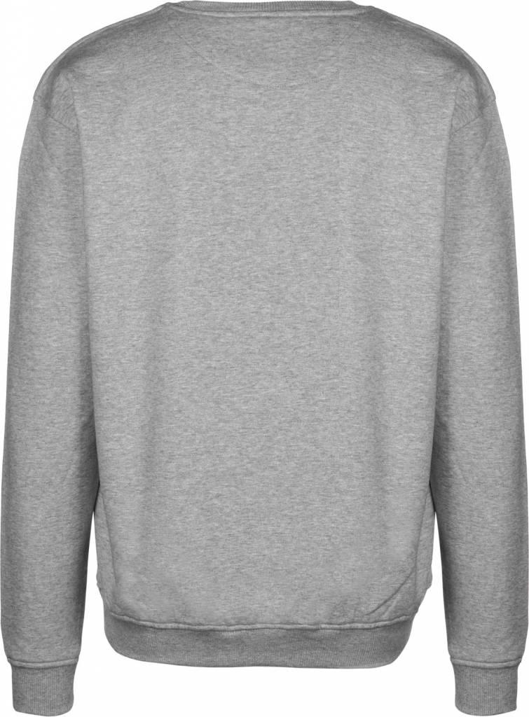 Montana Sweatshirt Typo+Logo Grey