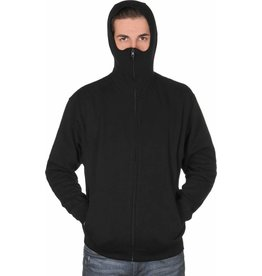 Graffiti Ninja Hooded Zipper schwarz