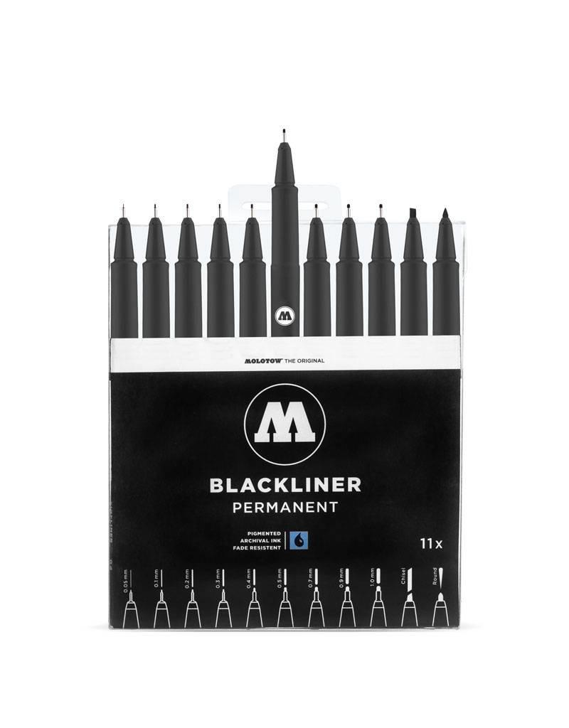 Molotow Blackliner Complete Set