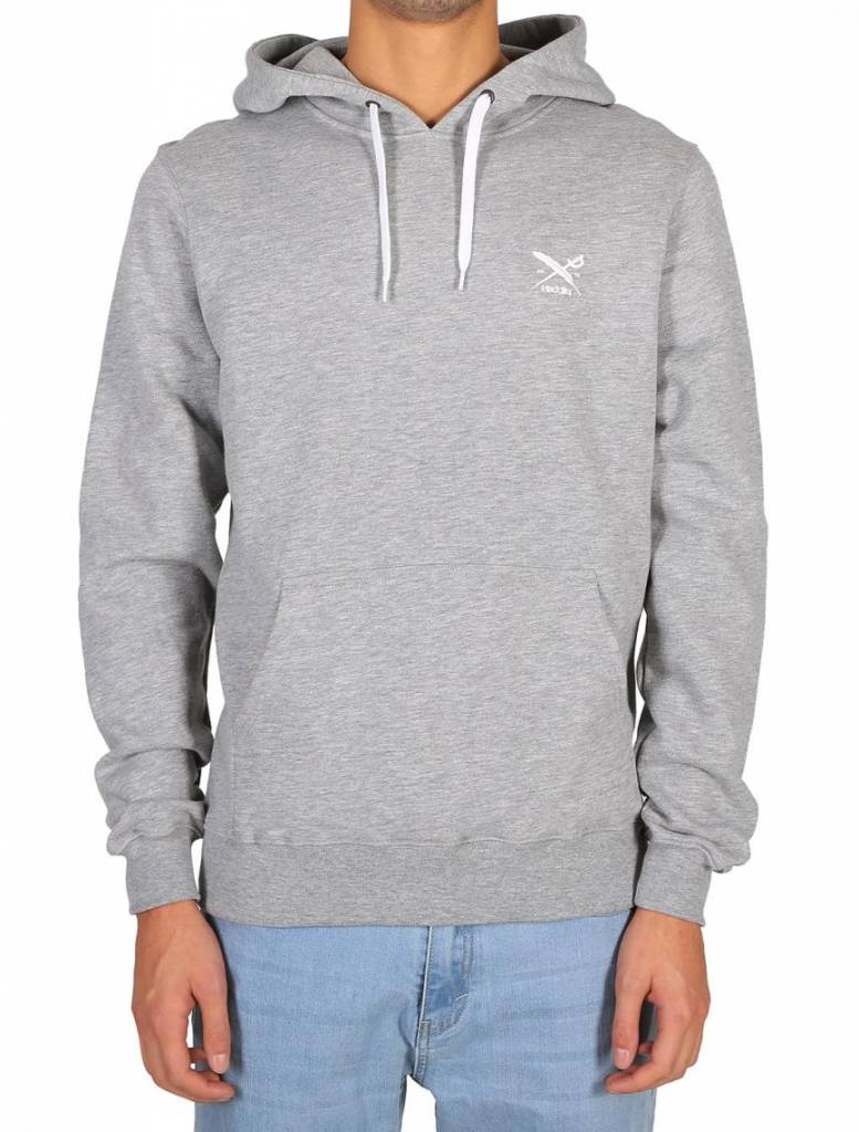Iriedaily Put Paint Hoody - grey-mel.